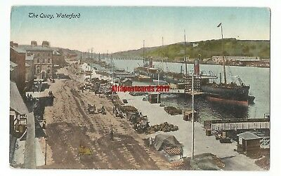 Ireland Waterford The Quay Vintage Postcard 25.7