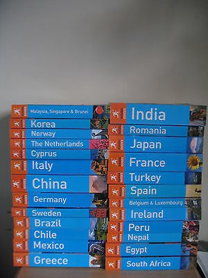 Rough Guides for Europe / Asia / Africa / South America (Nearly all Brand New)