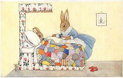 POSTCARD   CHILDREN    Rabbits  Related.....         Margaret  Tempest