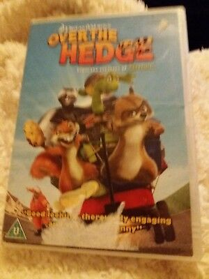 Over the Hedge dvd certificate U from the creators of Shrek