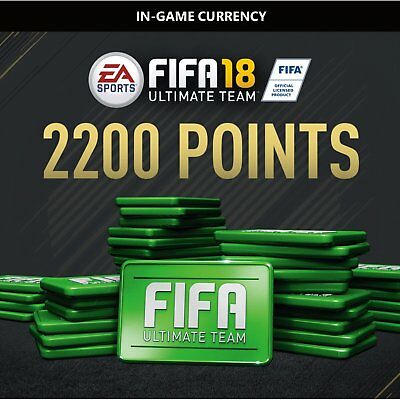 2200 FIFA 18 Points Pack - ORIGIN CD KEY - FOR PC - WORLWIDE