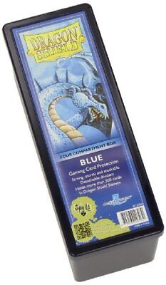 Dragon Shield Storage Box: 4 Compartments Card Game, Blue