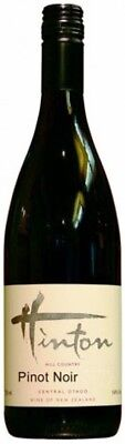 Hinton `Hill Country` Pinot Noir 2014 (12 x 750mL), Central Otago, NZ.