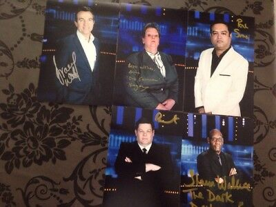 The Chase Handsigned Photos