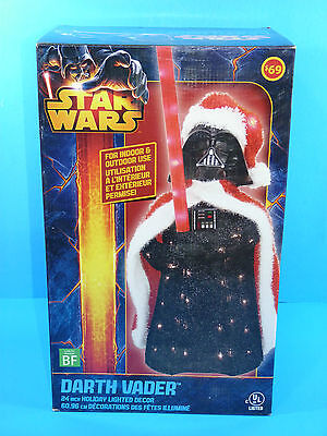 Star Wars DARTH VADER 24 inches Holiday Christmas Lighted Decor Indoor Outdoor
