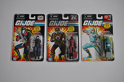 HASBRO G.I. Joe 3x COBRA Elite Trooper, Infantry & Ninja NEU/OVP