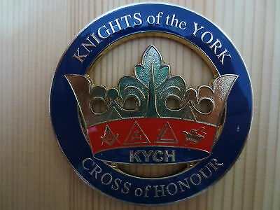 Masonic Auto Car Badge Emblems E17 KNIGHTS of the YORK