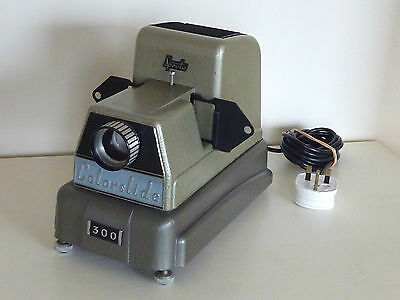 Vintage British Specto Colorslide 300 Slide Projector Viewer Steampunk Working