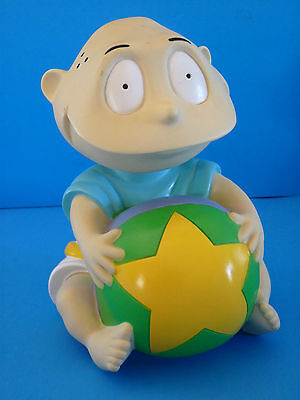 Vintage RUGRATS Tommy Plastic (Piggy) Coin Savings Toy Bank by Applause 1997