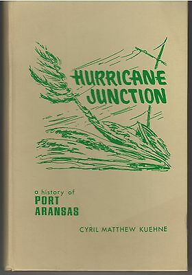 1973 Port Aransas Texas Local History by Cyril Matthew Kuehne, 1st, HB, Signed