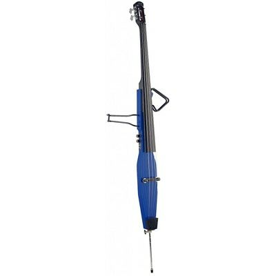 Stagg 3/4 Size Electric Double Bass Outfit - Blue