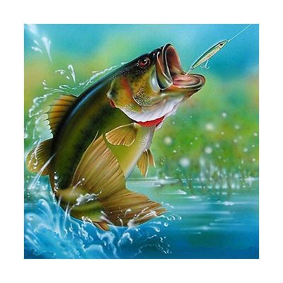 "Diamond Painting - Diamant Malerei - Stickerei - ""Fisch"" - Set - Neu (561)"
