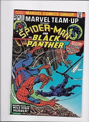 Marvel Comics    Marvel Team Up #20      Spider-Man and The BLACK PANTHER