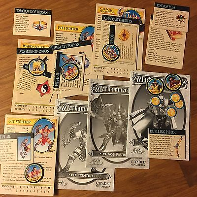 Warhammer Quest CHARACTER/HERO EXPANSIONS Multi-Listing FREE SHIPPING