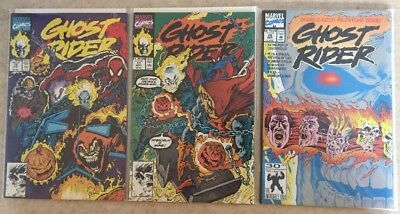GHOST RIDER #16, 17 & 25 (2nd Series) Marvel VF/NM Cond!