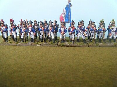 French 1812-15 Line infantry battalion standing FB01