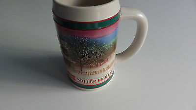 Beer Ceramic Mug Stein Miller High Life To the Best Holiday Traditions Christmas