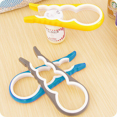 Jar Bottle Cover Gourd-shaped 4 in 1 Key Multifunction Can Opener Kitchen Tools