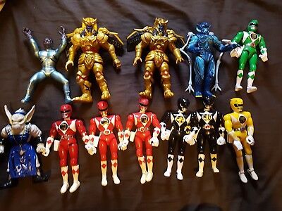 Mighty Morphin Power Rangers Figures Vintage 1993 1994 Make your selection