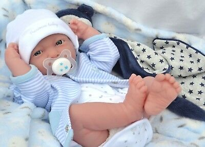 PJs ❤ Lil` Lamb ❤ BERENGUER LA NEWBORN REALISTIC BABY BOY DOLL FOR REBORN /PLAY