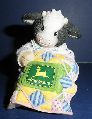 Enesco Mary's Moo Moos -674494-John Deere:You're Sew Deere to Me -New in Box