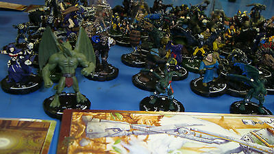 Mage Knight Miniatures Book Marks Treasure Chests 250+ collection lot.