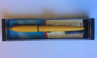 Rotring Rivette Fountain Pen. New In Box. Yellow