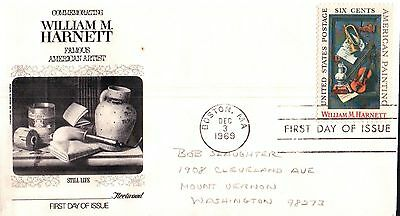 United States William Harnett American Artist First Day Cover 1969