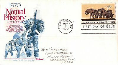 United States Natural History Series First Day Cover 1970