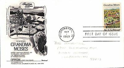 United States Honouring Grandma Moses First Day Cover 1969