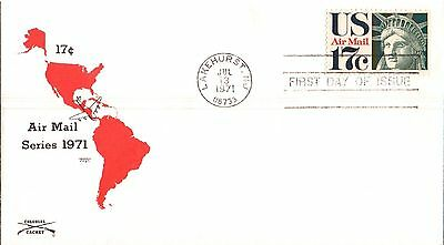United States Air Mail Service First Day Cover 1971