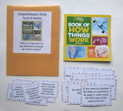 Teacher Made Literacy Center Game Learning Resource Comprehension Skills