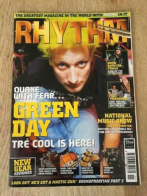 Green Day Rhythm Magazine Drumming
