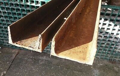 100mm × 50mm channel iron ×2.7 M.two off.