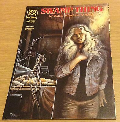 SWAMP THING Comic (DC #84) March 1989