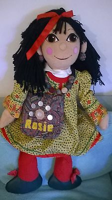 ROSIE plush RARE narrow barge canal boat rosie & jim PROP LIFE full SIZE REPLICA