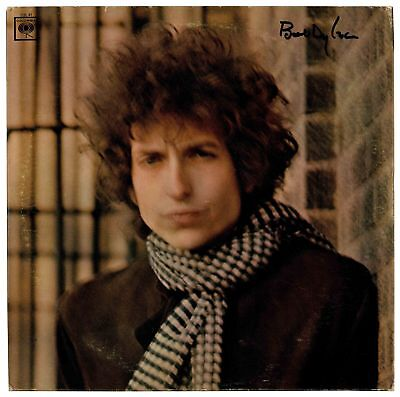 "Bob Dylan Signed Album ""Blonde on Blonde"" Obtained Direct from His Manager. Rare"