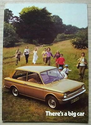 HILLMAN IMP De LUXE SUPER & SUNBEAM STILETTO Sport Sales Brochure 1971-72 #C149