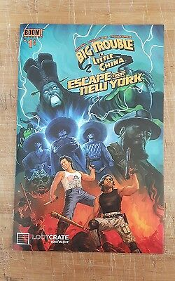 Big Trouble in Little China Escape from New York #1 loot crate variant