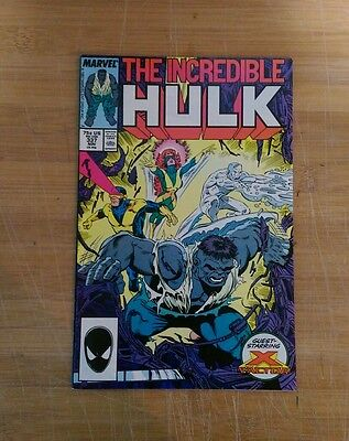 Incredible Hulk #337 X-Factor high grade