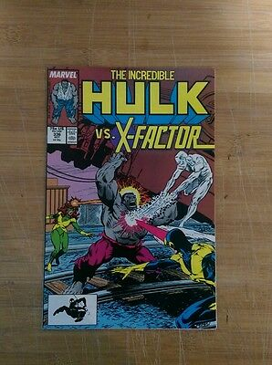 Incredible Hulk #336 X-Factor high grade