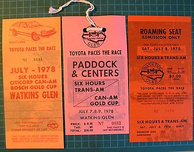 Watkins Glen Vintage Paddock & Centers Pass and Tickets - Roaming Seat Admission