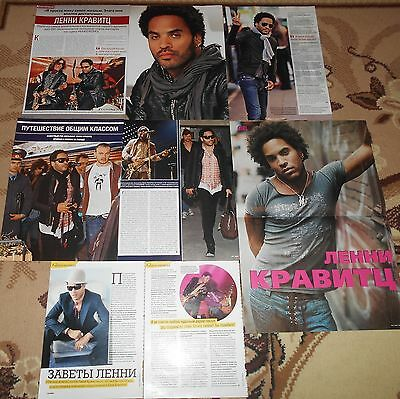 Lenny Kravitz - Magazine Poster + Clippings Collection