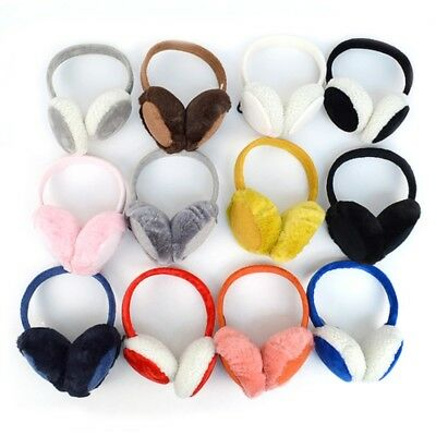 Adult/teen, Folding, Ear Muffs,  Plush, Soft, Warm, Nice Economy Earmuffs  New!