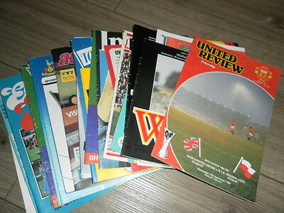 Europa / Uefa Cup Ties Programmes - Select From List
