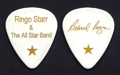 Ringo Starr & The All Star Band Richard Page Signature Guitar Pick - 2010 Tour