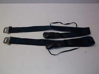 Blue 1968 1969 Ford Mustang Torino Falcon shoulder belt pair 37 1/2""