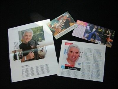 JOHN O'HURLEY magazine clippings