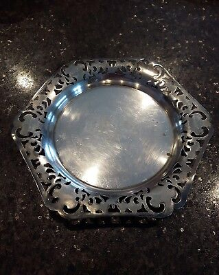 Antique silver plated platter Standards Co. of Toronto Canada rare