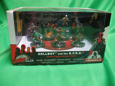 HorrorClix Heroclix Hellboy and the B.P.R.D. Action Pack NEW Dark Horse